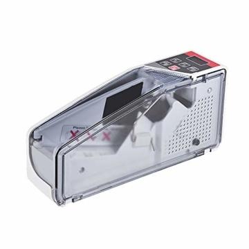 Fesjoy geldzählmaschine geldscheinprüfgerät geldprüfer geldzähler geldmaschine geldscheinzählmaschine geld zähler maschine falschgeld prüfgerät Tragbarer mini handlicher Geldzähler weltweit Bill Cash - 1