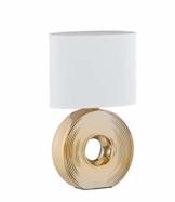 Fischer & Honsel Eye Tischleuchte, gold/weiß - 1