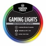 KontrolFreek Gaming Lights: LED Lichtstreifen, USB Anschluss mit Steuerung, 3M Klebefolie für TV, Konsole, PC und Wand (2.7 Meter) - 1