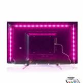 MY LAMP Led TV Hintergrundbeleuchtung,2M USB Led Beleuchtung Hintergrundbeleuchtung Fernseher USB für 40 bis 60 Zoll HDTV,TV-Bildschirm und PC-Monitor,Led Strip.MEHRWEG - 1