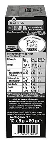 NESCAFÉ 2-in-1 Sticks, löslicher Bohnenkaffee mit Creamer, Instant-Kaffee aus erlesenen Kaffeebohnen, koffeinhaltig, 8er Pack (8 x 80 g) - 2