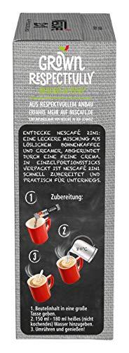 NESCAFÉ 2-in-1 Sticks, löslicher Bohnenkaffee mit Creamer, Instant-Kaffee aus erlesenen Kaffeebohnen, koffeinhaltig, 8er Pack (8 x 80 g) - 3