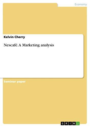 Nescafé. A Marketing analysis (English Edition) - 1