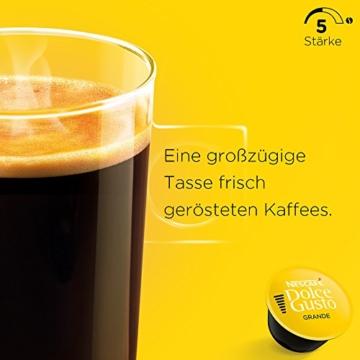 Nescafé Dolce Gusto Caffe Crema Grande, XXL-Vorratsbox, 90 Kaffeekapseln, 100% Arabica Bohnen, feinste Crema und kräftiges Aroma, Blitzschnelle Zubereitung, 3er Pack (3 x 30 Kapseln) - 2