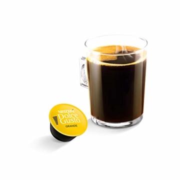 Nescafé Dolce Gusto Caffe Crema Grande, XXL-Vorratsbox, 90 Kaffeekapseln, 100% Arabica Bohnen, feinste Crema und kräftiges Aroma, Blitzschnelle Zubereitung, 3er Pack (3 x 30 Kapseln) - 3