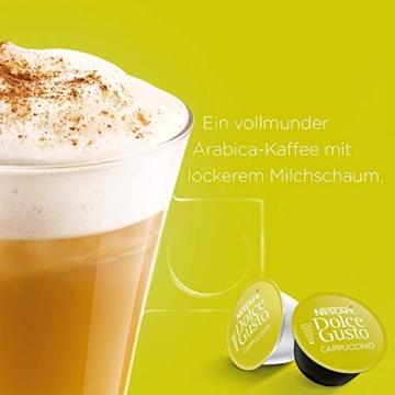 NESCAFÉ Dolce Gusto Cappuccino XXL-Vorratsbox (90 Kapseln, 100% Arabica Bohnen, leichter Kaffeegenuss mit cremigem Milchschaum) 3er Pack (3 x 30 Kapseln) - 2