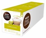 NESCAFÉ Dolce Gusto Cappuccino XXL-Vorratsbox (90 Kapseln, 100% Arabica Bohnen, leichter Kaffeegenuss mit cremigem Milchschaum) 3er Pack (3 x 30 Kapseln) - 1