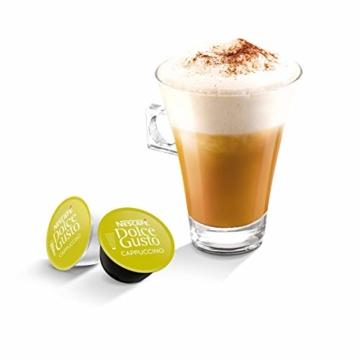 NESCAFÉ Dolce Gusto Cappuccino XXL-Vorratsbox (90 Kapseln, 100% Arabica Bohnen, leichter Kaffeegenuss mit cremigem Milchschaum) 3er Pack (3 x 30 Kapseln) - 4