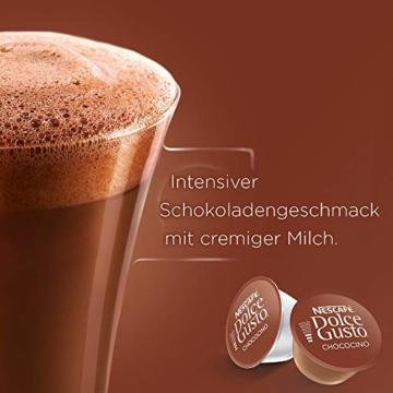 NESCAFÉ Dolce Gusto Chococino | 48 Kapseln Trinkschokolade | Feiner Kakao Geschmack | Cremige Milch und beste Schokolade | Schnelle Zubereitung | Aromaversiegelte Kapseln | 3er Pack (3 x 16 Kapseln) - 3