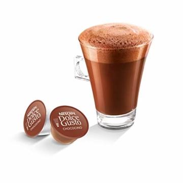 NESCAFÉ Dolce Gusto Chococino | 48 Kapseln Trinkschokolade | Feiner Kakao Geschmack | Cremige Milch und beste Schokolade | Schnelle Zubereitung | Aromaversiegelte Kapseln | 3er Pack (3 x 16 Kapseln) - 4