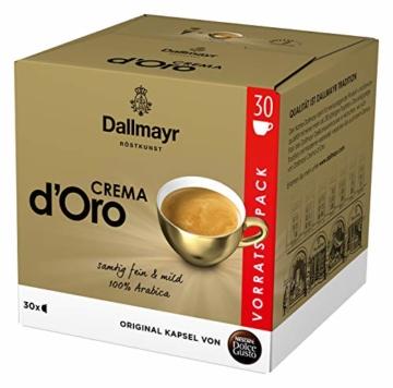 NESCAFÉ Dolce Gusto Dallmayr Crema d'Oro, XXL-Vorratsbox, schnelle Zubereitung, aromaversiegelte Kapseln, 90 Kaffeekapseln - 4