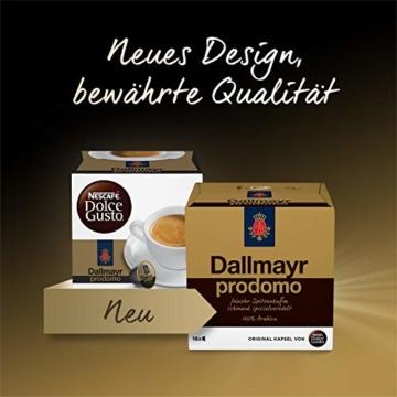 NESCAFÉ Dolce Gusto Dallmayr Prodomo | 48 Kaffeekapseln | Spitzenqualität für einen vollaromatischen Geschmack | 100% Arabica-Bohnen | Aromaversiegelte Kapseln | 3er Pack (3 x 16 Kapseln) - 2