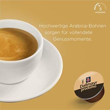 NESCAFÉ Dolce Gusto Dallmayr Prodomo | 48 Kaffeekapseln | Spitzenqualität für einen vollaromatischen Geschmack | 100% Arabica-Bohnen | Aromaversiegelte Kapseln | 3er Pack (3 x 16 Kapseln) - 3