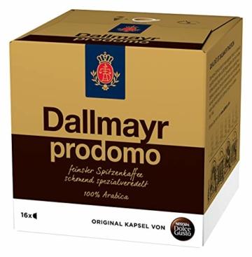 NESCAFÉ Dolce Gusto Dallmayr Prodomo | 48 Kaffeekapseln | Spitzenqualität für einen vollaromatischen Geschmack | 100% Arabica-Bohnen | Aromaversiegelte Kapseln | 3er Pack (3 x 16 Kapseln) - 4