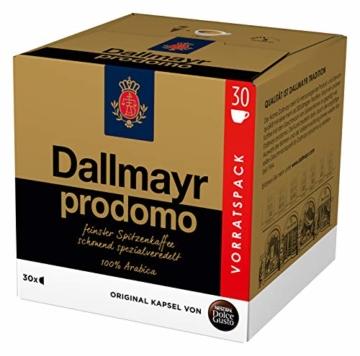 NESCAFÉ Dolce Gusto Dallmayr Prodomo, XXL-Vorratsbox, 90 Kaffeekapseln, 100 Prozent Arabica-Bohnen, Aromaversiegelte Kapseln, 3er Pack (3 x 30 Kapseln) - 4