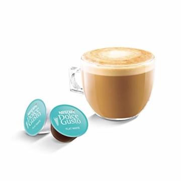 NESCAFÉ Dolce Gusto Flat White | 48 Kaffeekapseln | Arabica und Robusta Bohnen | Cremig-Milchiger Genuss | Kaffeekreation | Coffee-Shop Trend | Aromaversiegelte Kapseln (3 x 16 Kapseln) - 2