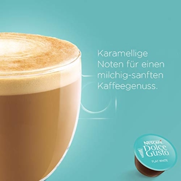 NESCAFÉ Dolce Gusto Flat White | 48 Kaffeekapseln | Arabica und Robusta Bohnen | Cremig-Milchiger Genuss | Kaffeekreation | Coffee-Shop Trend | Aromaversiegelte Kapseln (3 x 16 Kapseln) - 4