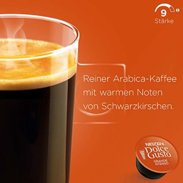 NESCAFÉ Dolce Gusto Grande Intenso | 48 Kaffeekapseln | Arabica Bohnen aus Ostafrika und Südamerika | Haselnussbraune Crema | Aromaversiegelte Kapseln | 3er Pack (3 x 16 Kapseln) - 2