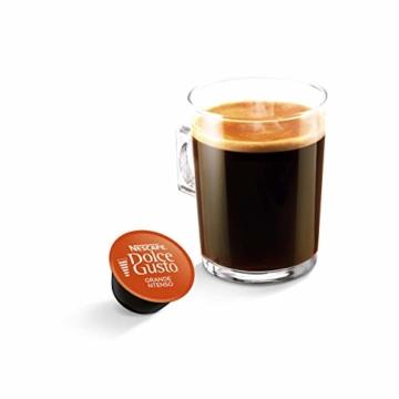 NESCAFÉ Dolce Gusto Grande Intenso | 48 Kaffeekapseln | Arabica Bohnen aus Ostafrika und Südamerika | Haselnussbraune Crema | Aromaversiegelte Kapseln | 3er Pack (3 x 16 Kapseln) - 3
