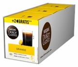 NESCAFÉ Dolce Gusto Grande Kaffee 54 Kaffeekapseln (100% Arabica Bohnen, Feine Crema und kräftiges Aroma, Schnelle Zubereitung, Aromaversiegelte Kapseln) 3er Pack (3 x 16 + 2 Kapseln) - 1