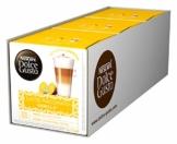NESCAFÉ Dolce Gusto Latte Macchiato Vanilla | 48 Kaffeekapseln | Feines Vanille Aroma und leckerer Milchschaum | Arabica Robusta Mischung | Aromaversiegelte Kapseln | 3er Pack (3 x 16 Kapseln) - 1