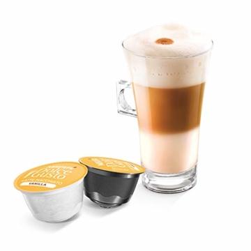 NESCAFÉ Dolce Gusto Latte Macchiato Vanilla   48 Kaffeekapseln   Feines Vanille Aroma und leckerer Milchschaum   Arabica Robusta Mischung   Aromaversiegelte Kapseln   3er Pack (3 x 16 Kapseln) - 4