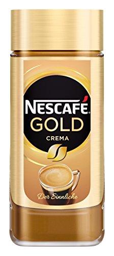 NESCAFÉ Gold Crema, löslicher Bohnenkaffee aus erlesenen Arabica-Kaffeebohnen, Instant-Pulver, koffeinhaltig & aromatisch, 6er Pack (6 x 200 g) - 5