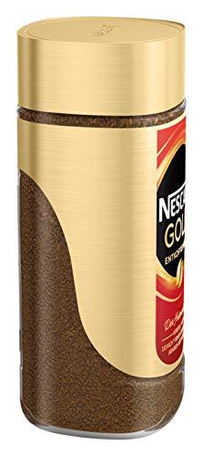 NESCAFÉ GOLD Entkoffeiniert, löslicher Bohnenkaffee aus erlesenen Kaffeebohnen, ohne Koffein, vollmundig & aromatisch, 1er Pack (1 x 200g) - 4