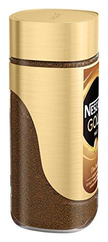 NESCAFÉ Gold Mild, löslicher Bohnenkaffee aus erlesenen Kaffeebohnen, Instant-Pulver, koffeinhaltig & aromatisch, 1er Pack (1 x 100g) - 4