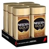 NESCAFÉ GOLD Mild, löslicher Bohnenkaffee aus erlesenen Kaffeebohnen, Instant-Pulver, koffeinhaltig & aromatisch, 6er Pack (6 x 200g) - 1