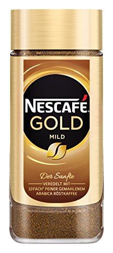 NESCAFÉ GOLD Mild, löslicher Bohnenkaffee aus erlesenen Kaffeebohnen, Instant-Pulver, koffeinhaltig & aromatisch, 6er Pack (6 x 200g) - 2