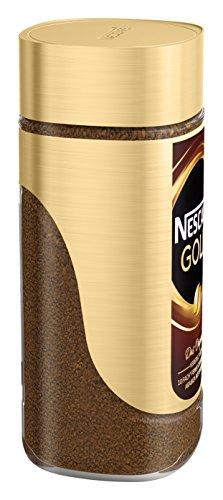 NESCAFÉ GOLD Original, löslicher Bohnenkaffee aus erlesenen Kaffeebohnen, koffeinhaltig, vollmundig & aromatisch, 1er Pack (1 x 200g) - 4