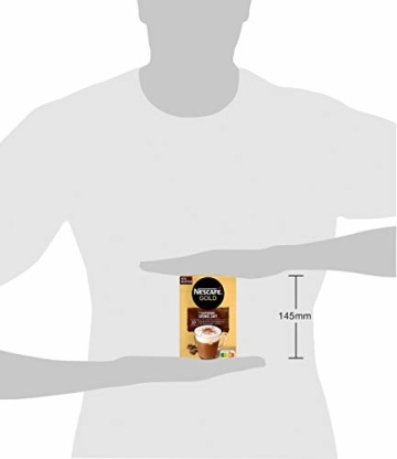 NESCAFÉ Gold Typ Cappuccino Cremig Zart, Getränkepulver aus löslichem Bohnenkaffee, koffeinhaltig, 1 x 140g (à 10 x 14 g Sticks) - 2