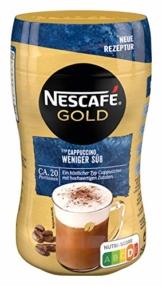 NESCAFÉ Gold Typ Cappuccino Weniger Süß, Getränkepulver aus löslichem Bohnenkaffee, koffeinhaltig, 1er Pack (1 x 250g) - 1