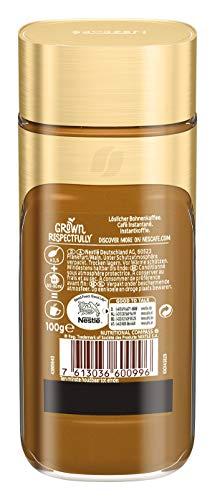 NESCAFÉ Gold Typ ESPRESSO, hochwertiger Instant Espresso mit 100% feinen Arabica Kaffeebohnen, koffeinhaltig, mit samtiger Crema, 3er Pack (3 x 100g) - 2