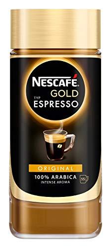 NESCAFÉ Gold Typ ESPRESSO, hochwertiger Instant Espresso mit 100% feinen Arabica Kaffeebohnen, koffeinhaltig, mit samtiger Crema, 3er Pack (3 x 100g) - 4