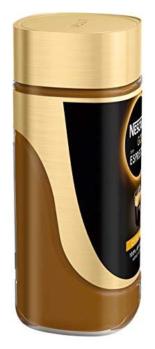 NESCAFÉ Gold Typ ESPRESSO, hochwertiger Instant Espresso mit 100% feinen Arabica Kaffeebohnen, koffeinhaltig, mit samtiger Crema, 3er Pack (3 x 100g) - 5
