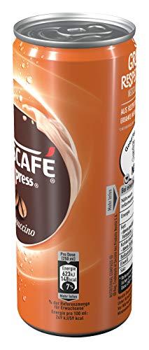 NESCAFÉ Xpress Cappuccino, ready to drink Eiskaffee, 12er Pack (12 x 250ml) - 4
