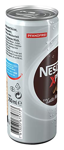 NESCAFÉ Xpress Latte Macchiato, ready to drink Eiskaffee, 12er Pack (12 x 250ml) - 5