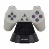 Paladone Playstation Controller LED-Licht | Sammlerbares Nachtlicht für Schlafzimmer, Büro & Zuhause | Popkultur-Icon Beleuchtung, Grau, PP5221PS - 1