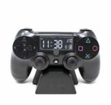Playstation Digital Wecker LCD | PS4 Dualshock Controller Design | Verwenden Sie die Tasten, um Uhrzeit und Datum einzustellen - 1