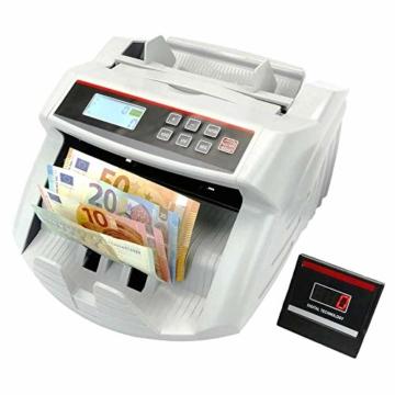 PrimeMatik - Banknotenzähler mit Echtheitskontrolle UV MG1 MG2 - 1