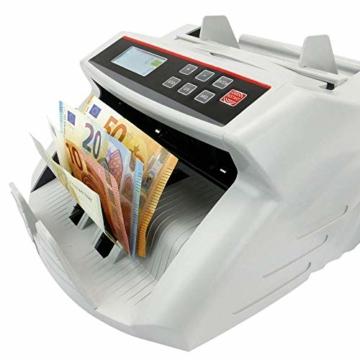 PrimeMatik - Banknotenzähler mit Echtheitskontrolle UV MG1 MG2 - 2