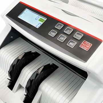 PrimeMatik - Banknotenzähler mit Echtheitskontrolle UV MG1 MG2 - 5