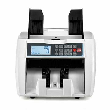 QWERTOUY Banknotenzähler mit UV- / MG- / IR- / DD-Erkennung Geeignet für Banknotenzähler mit Mehreren Währungen - 2