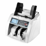QWERTOUY Banknotenzähler mit UV- / MG- / IR- / DD-Erkennung Geeignet für Banknotenzähler mit Mehreren Währungen - 1