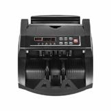 QWERTOUY Mehrwährungs-Banknotenzähler-Bargeldschein-automatischer Zählmaschine IR/DD ermitteln LCD-Anzeige für US-Dollar Euro - 1