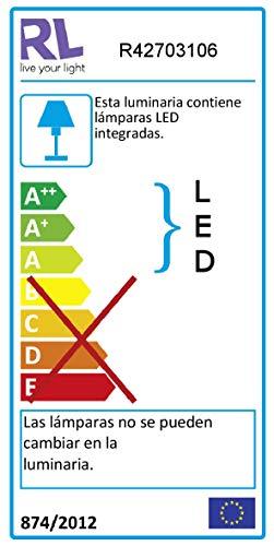 Reality Leuchten LED Stehleuchte Prater in Chrom, 3x4,5 Watt LED, Energieklasse A+ - 2