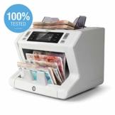 Safescan 2685-S - High-Speed Banknotenzähler mit Wertzählung für gemischte Geldscheine, mit 7-facher Falschgeldprüfungbanknote - 100%ige Sicherheit - 1