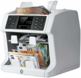 Safescan 2985-SX - Hochentwickelter Banknotenzähler mit 2 Fächern, mit Werterkennung und -sortierung für gemischte Geldscheine - 1